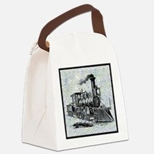 art-train.png Canvas Lunch Bag