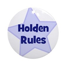 Holden Rules Ornament (Round)