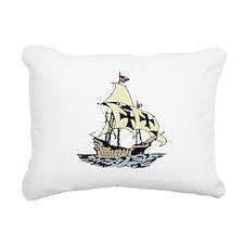pirate ship.png Rectangular Canvas Pillow