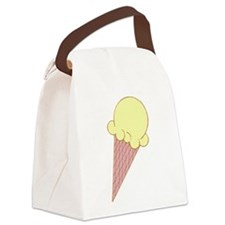 ICE-CREAM-CONE.png Canvas Lunch Bag