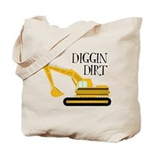Digging Dirt Tote Bag
