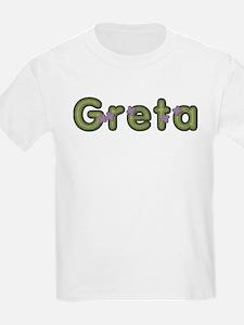 Greta Spring Green T-Shirt