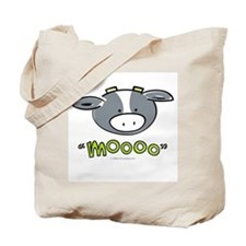 """Mooo"" Cow Tote Bag"