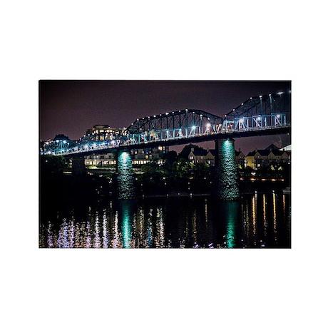 Walnut Street Bridge Rectangle Magnet
