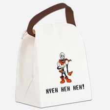 Papyrus Nyeh Heh Heh - Blk Canvas Lunch Bag