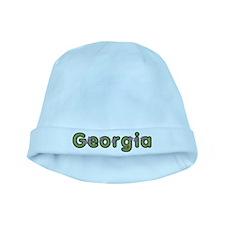Georgia Spring Green baby hat