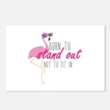 Born To Stand Out Postcards (Package of 8)