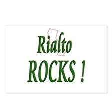 Rialto Rocks ! Postcards (Package of 8)