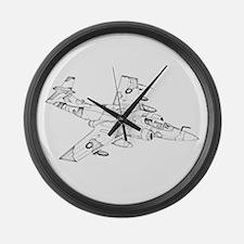 Buccaneer Large Wall Clock