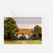 StephanieAM Cottage Greeting Card
