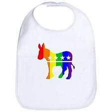 Democratic Pride Bib