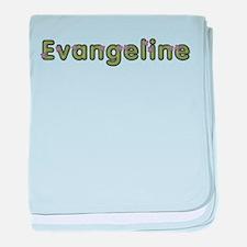 Evangeline Spring Green baby blanket