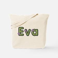 Eva Spring Green Tote Bag