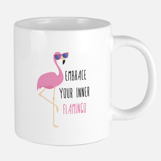 Embrace Your Inner Flamingo 20 oz Ceramic Mega Mug