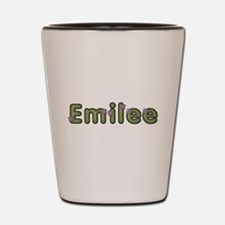Emilee Spring Green Shot Glass