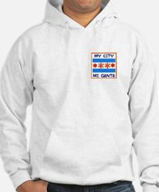 TAINO SUN IN THE CHICAGO FLAG Hoodie