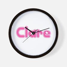 """Clare"" Wall Clock"