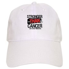 Stronger Than Lung Cancer Baseball Cap