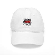 Stronger Than Lung Cancer Baseball Cap