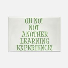 Learning Experience Rectangle Magnet