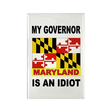 IDIOT GOVERNOR Rectangle Magnet (100 pack)