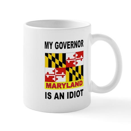 IDIOT GOVERNOR Mug