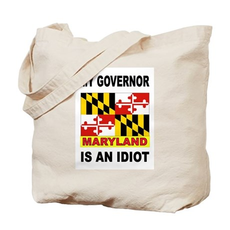 IDIOT GOVERNOR Tote Bag