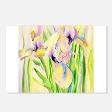 Miniature Gingerbread Iris Postcards (Package of 8