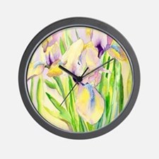 Miniature Gingerbread Iris Wall Clock