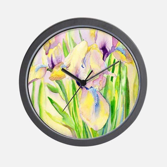 Miniature Gingerbread Iris Wall Clock