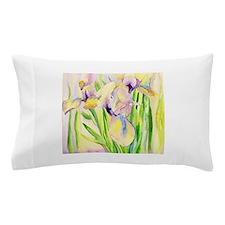 Miniature Gingerbread Iris Pillow Case