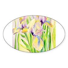 Miniature Gingerbread Iris Decal