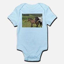 horses on the moor Body Suit