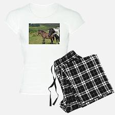 horses on the moor pajamas