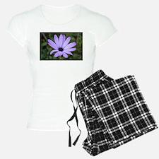 purple flower pajamas