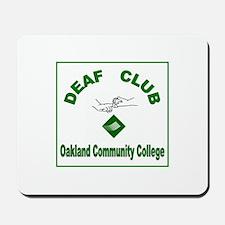 OCC Deaf Friendship Club Mousepad