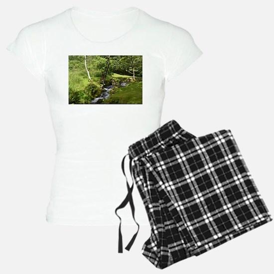 woodland pajamas