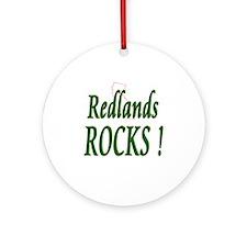 Redlands Rocks ! Ornament (Round)