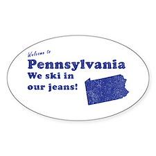 Pennsylvania Oval Decal