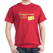 Pennsylvania Red T-Shirt