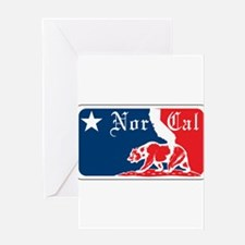 Major League Norcal logo Greeting Card