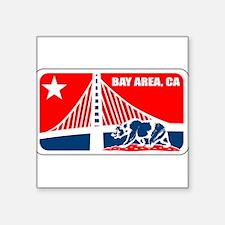 major league bay area Sticker