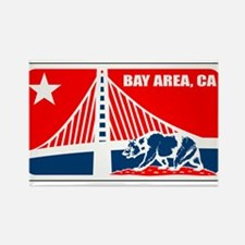 major league bay area Rectangle Magnet