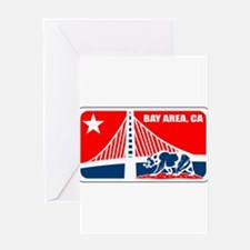 major league bay area Greeting Card