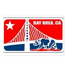 major league bay area Postcards (Package of 8)
