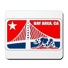 major league bay area Mousepad