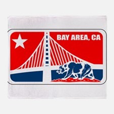 major league bay area Throw Blanket