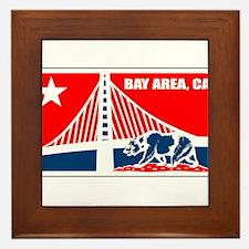 major league bay area Framed Tile