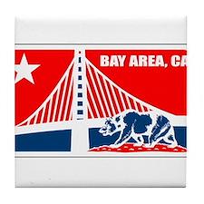 major league bay area Tile Coaster