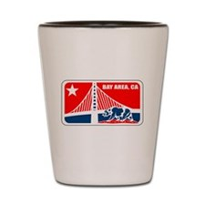 major league bay area Shot Glass